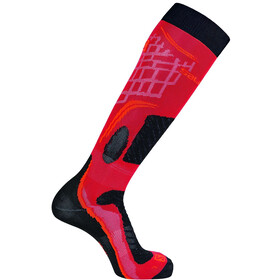 Salomon X Pro Ski Socken valiant poppy/cherry tomato